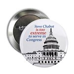 Steve Chabot is Too Extreme Button