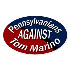 Pennsylvanians Against Tom Marino sticker