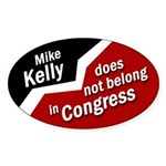 Bumper Sticker Against Mike Kelly