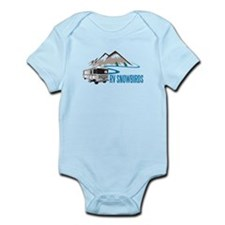 RV SNOWBIRDS Infant Bodysuit