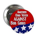 Political Button Against Bob Gibbs