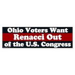 Ohio Wants Renacci OUT bumper sticker