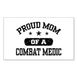 Proud Combat Medic Mom Decal
