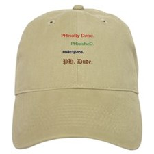 His Ph.D. Baseball Cap