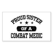 Proud Combat Medic Sister Decal