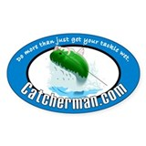 Catcherman.com Decal