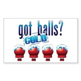 Cold Balls Decal