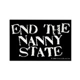 Nanny State Rectangle Magnet (100 pack)
