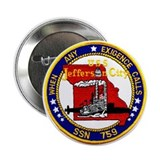 USS Jefferson City SSN 759 Button