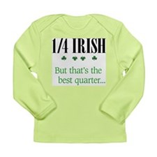 1/4 Irish Long Sleeve Infant T-Shirt