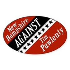 New Hampshire Against Tim Pawlenty sticker