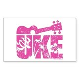 The Uke Stickers Decal