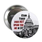 Kevin Yoder Does Not Speak for Me Button