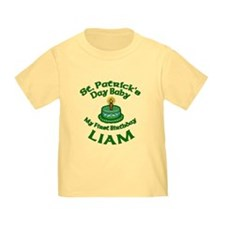 Customizable St. Pat's Baby Birthday T
