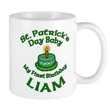 Customizable St. Pat's Baby Birthday Mug
