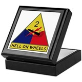 Hell On Wheels Keepsake Box