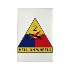 Hell On Wheels Rectangle Magnet