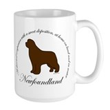 Devoted Brown Newf Coffee Mug