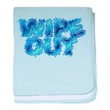 Wipeout-Splash baby blanket