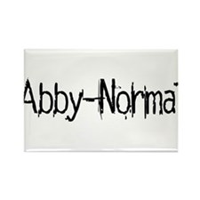 Abby Normal 2 Rectangle Magnet