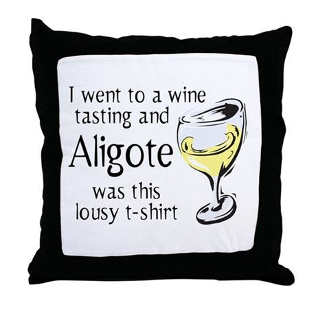 Aligote Throw Pillow