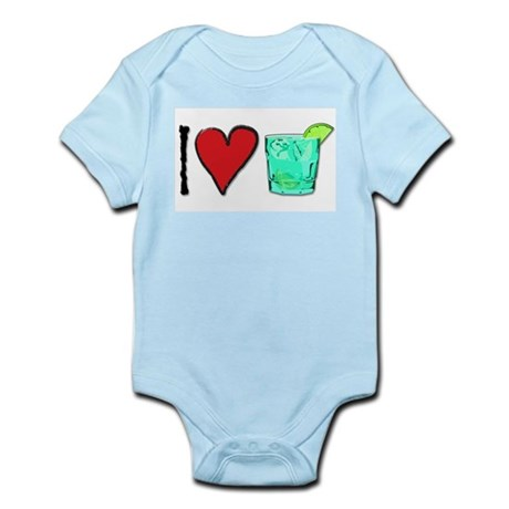 I Love T & T Infant Bodysuit
