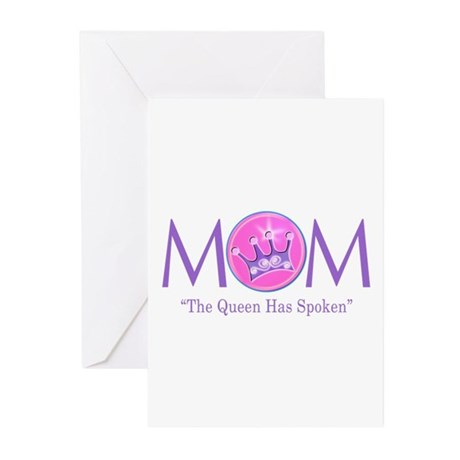 Queen Mom Greeting Cards (Pk of 10)