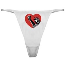 Liberty Heart Classic Thong