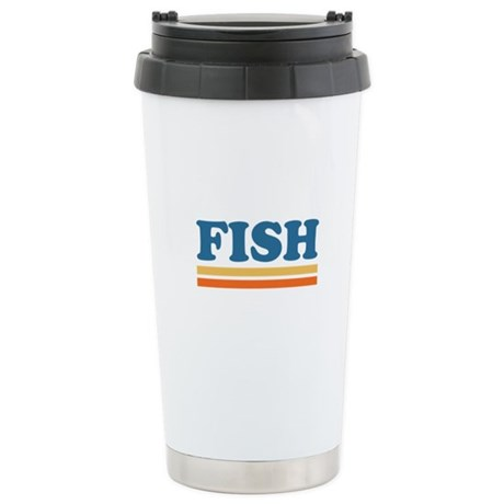 FISH Ceramic Travel Mug