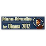Unitarian-Universalists for Obama bumper sticker