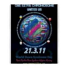 World Down Syndrome Day 2011 Throw Blanket