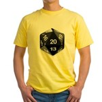 d20 Yellow T-Shirt
