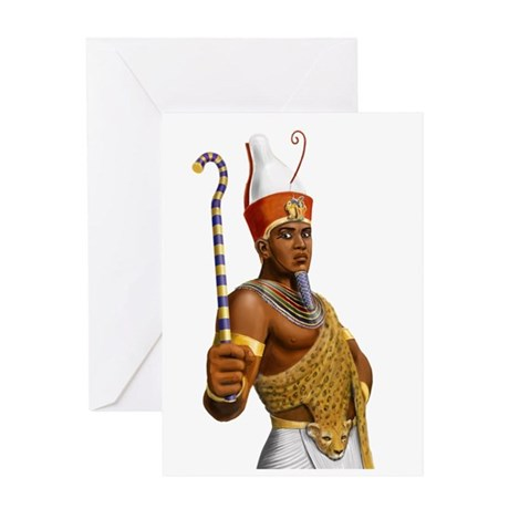Pharaoh Greeting Card