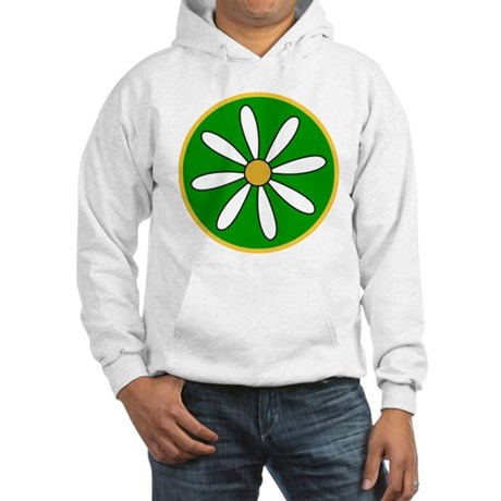 Daisy Green Hooded Sweatshirt