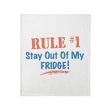 Fridge Kitchen Humor Throw Blanket