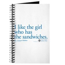 I Like the Girl Who Has the Sandwiches Journal