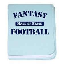Fantasy Football Hall of Fame baby blanket