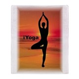 iYoga Throw Blanket