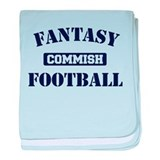 Fantasy Football Commish baby blanket