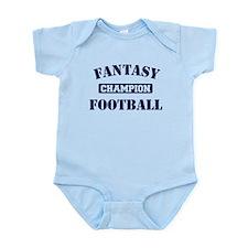 Fantasy Football Champion Infant Bodysuit