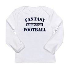 Fantasy Football Champion Long Sleeve Infant T-Shi