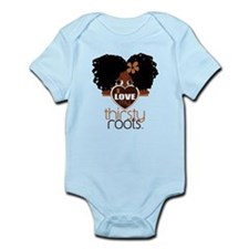 Curly Natural Afro Infant Bodysuit