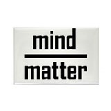 Mind over Matter Rectangle Magnet (10 pack)