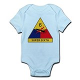 Super Sixth Infant Bodysuit