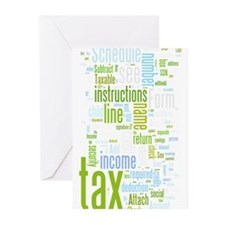 Cute Tax Greeting Cards (Pk of 10)