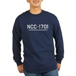 NCC-1701 Long Sleeve Dark T-Shirt