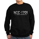 NCC-1701 (worn) Sweatshirt (dark)
