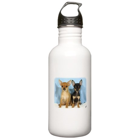 Chihuahuas 9W079D-011 Stainless Water Bottle 1.0L