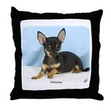 Chihuahua 9W079D-027 Throw Pillow