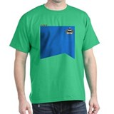 TNG Science Uniform (Capt)  T-Shirt